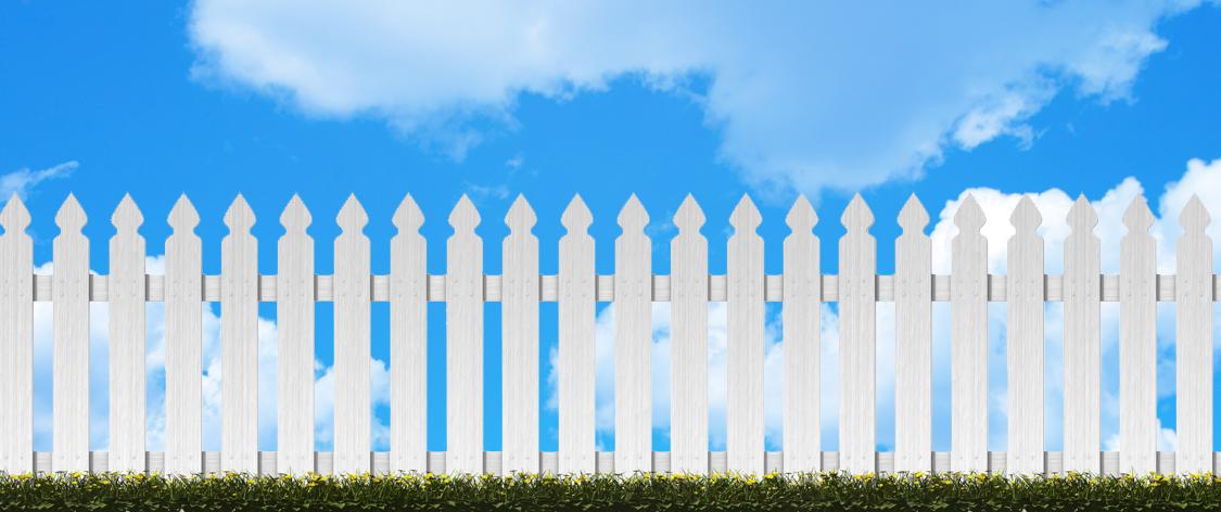 Fence-Sky