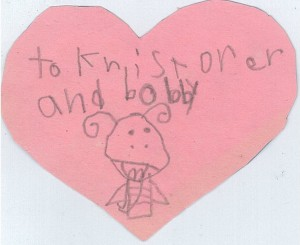 A Valentine for Kristofer and Bobby!